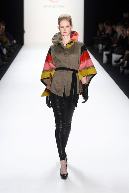 Anja Gockel. Mercedes-Benz Fashion Week Berlin